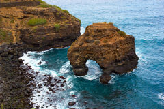 Rocks of Tenerife, Spain Royalty Free Stock Photo