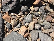 Rocks texture Stock Photography