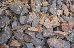 Rocks texture Stock Images