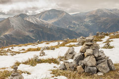 Rocks tower on Malolaczniak top - Tatras Mountains Royalty Free Stock Image