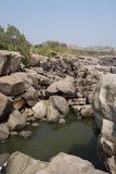 Rocks view of hampi Royalty Free Stock Photos