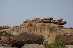 Rocks view of hampi Royalty Free Stock Photography