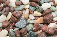Rocks washed decorative background Royalty Free Stock Photo