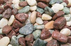 Rocks washed decorative background Royalty Free Stock Photo