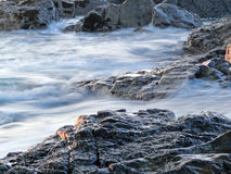 Rocks and Water Royalty Free Stock Photography