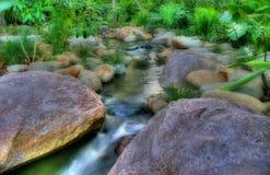 Rocks in water Stock Image