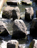 Rocks in water Royalty Free Stock Photography