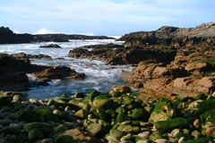 Rocks and water. Rocks and sea Stock Image