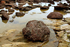 Rocks and water Royalty Free Stock Photos