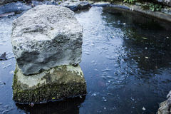 Rocks and Water-4. Brighton Preston Rokery Park Royalty Free Stock Images