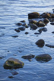 Rocks in water nature background Royalty Free Stock Images
