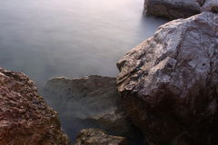 Rocks and water Stock Images