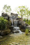 The rocks, water, plants, landscape. The rocks, water, plants, the scenery is very beautiful, people intoxicated Royalty Free Stock Photography