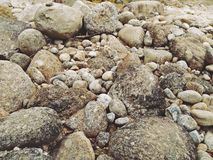 Rocks of the waterfall from Kiriwong ,Nakhonsithammarat,Thailand.  Stock Images
