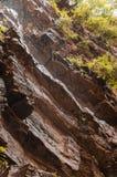 Rocks and  Waterfall Stock Image