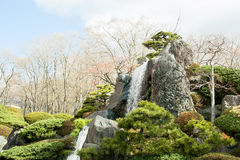 Rocks and waterfalls. Royalty Free Stock Images