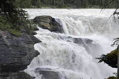Rocks and waterfalls Royalty Free Stock Image