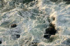 Rocks and waves - 4. Waves and rocks in the sea off the coast of Bulgaria Stock Image