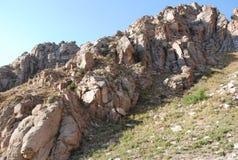 Rocks Western Tien Shan Stock Photos
