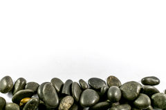 Rocks on a white background.  Stock Images