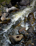 Rocks and Whitewater Stock Image