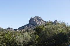 Rocks and wild nature on sardinia Royalty Free Stock Photos