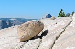 Rocks in Yosemite National Stock Images