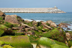 Rocks in Zumaia Stock Image