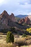 Rocksbildande Colorado Arkivbilder