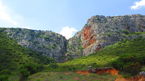 Rockscape in Andalusia Royalty Free Stock Photography