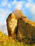 Rockscape nella campagna di Alora Fotografia Stock