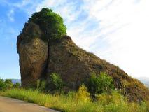 Rockscape in primavera Fotografia Stock