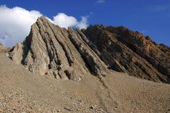 rockslide горы Стоковое Фото