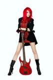 rockstar的红头发人 库存图片