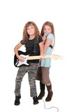Rockstar children Royalty Free Stock Photos