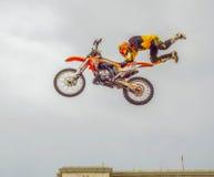 Rockstar flygenergi turnerar, Bucharest 2016 Royaltyfria Foton
