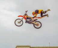 Rockstar flying energy tour ,Bucharest 2016 Royalty Free Stock Photos