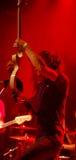 Rockstar nel colore rosso 2 Immagini Stock
