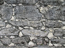 Background Ancient Stone Wall  Royalty Free Stock Photography