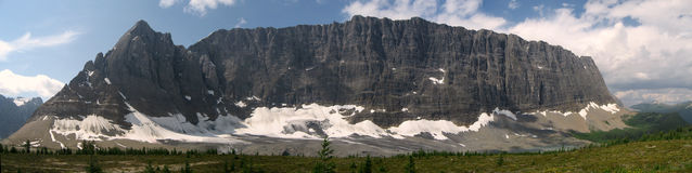 Rockwall mountain panorama Stock Images