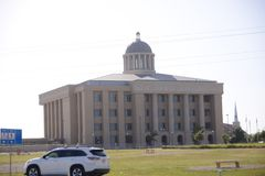 Rockwall Texas County Courthouse. Rockwall  is a city in Rockwall County, Texas, United States, which is part of the Dallas/Fort Worth Metroplex Stock Photo
