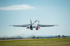 Rockwell B1 bombplan Royaltyfri Foto