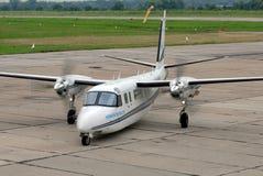 Rockwell-Bevelhebbers690c vliegtuigen Stock Afbeelding