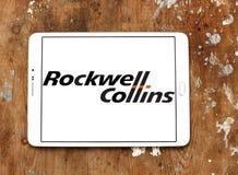 Rockwell Collins λογότυπο επιχείρησης Στοκ Φωτογραφίες
