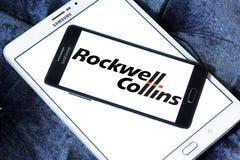 Rockwell Collins λογότυπο επιχείρησης Στοκ Εικόνα