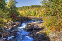 Rockwell Falls on the Hudson Royalty Free Stock Photos