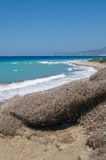 Rocky Aegean coast Royalty Free Stock Image