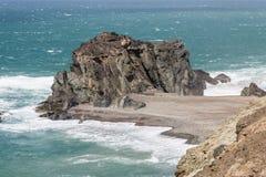 Rocky Ajuy Coast, Fuerteventura Royalty Free Stock Photography
