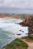 Rocky Algarve, Portugal coastline Royalty Free Stock Photo