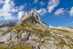 Rocky alpine landscape mountain, Switzerland Stock Photography